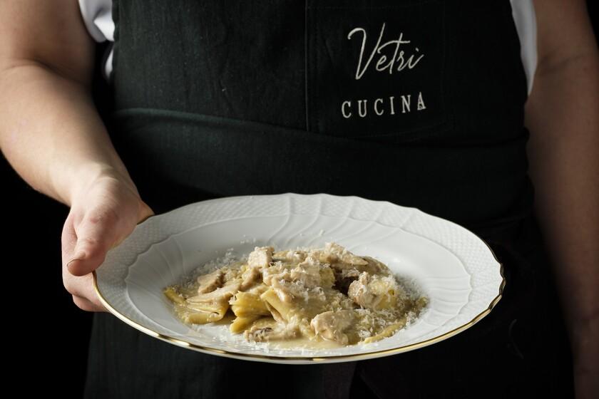 The fazzoletti from Vetri Cucina at the Palms.