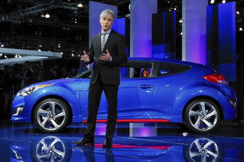 Hyundai Motor America chief John Krafcik to step down