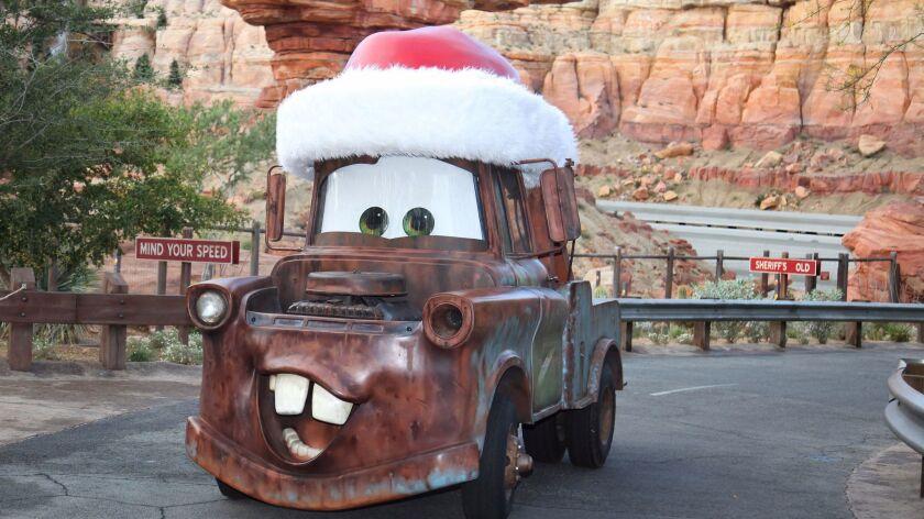 Disneyland Resort Holiday Cars Land