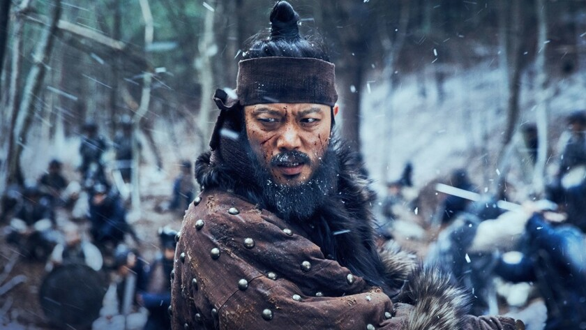 """Lee Byung-hun in the movie """"The Fortress."""""""