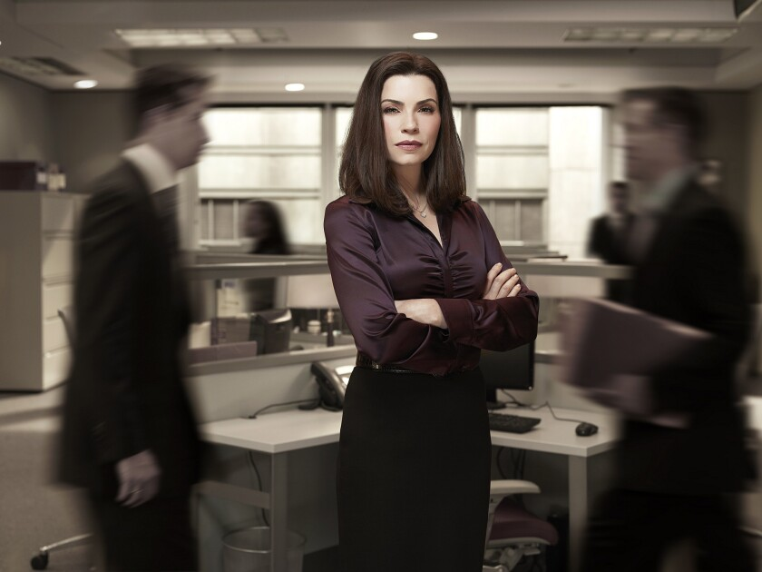 """Emmy Award winner Julianna Margulies, stars in """"The Good Wife,"""" which took a shocking turn this week with a major character's death."""
