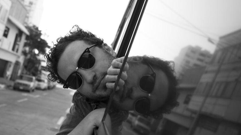 Mexican filmmaker Alonso Ruizpalacios, director iof MUSEO starring Gael Garcia Bernal.