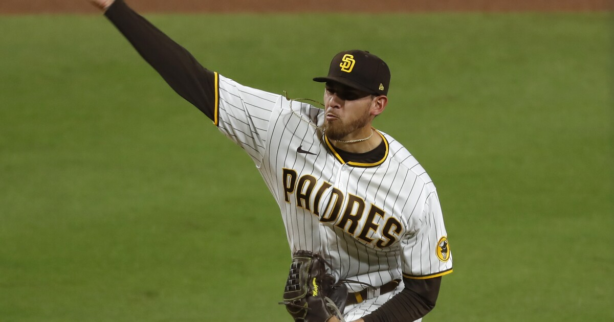 Musgrove strikes out 13, but homers lift Brewers over Padres