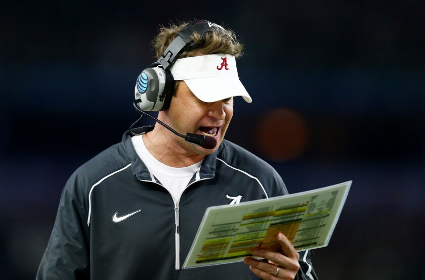 Lane Kiffin is thriving as Alabama offensive coordinator, while still tweaking USC and Pat Haden