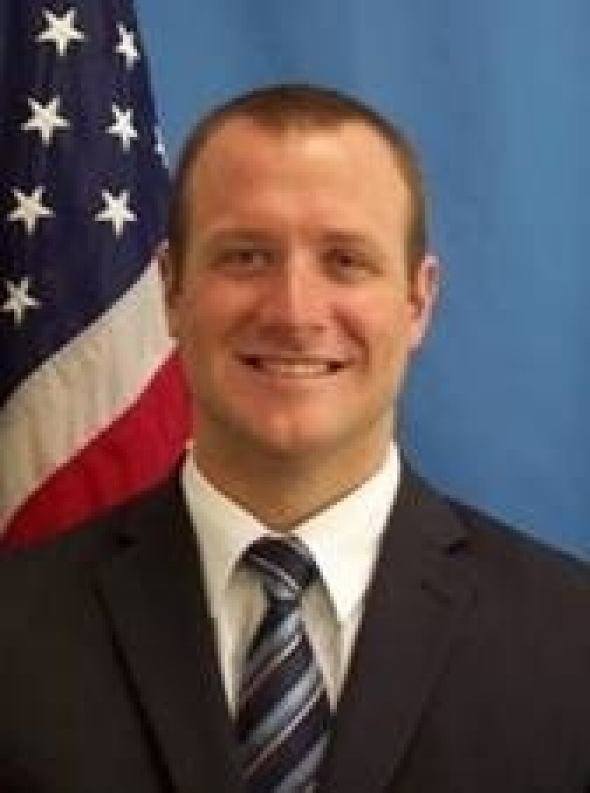 Laguna police welcome new officer