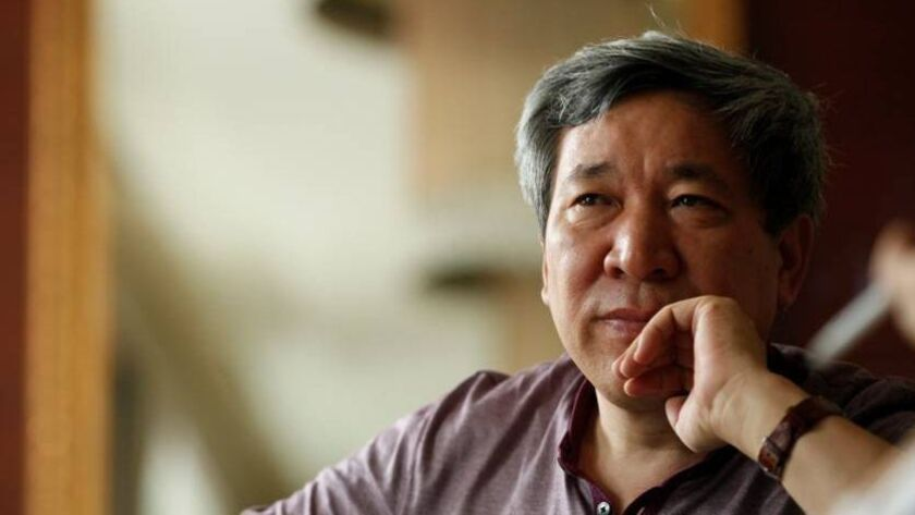"""An author photo of Yan Lianke for his book """"The Day the Sun Died."""" Credit: Courtesy of the author, Y"""