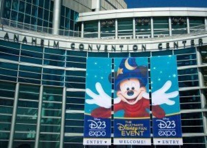 D23 Expo 2013 - Anaheim Convention Center