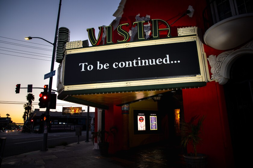 California To Let Movie Theaters To Reopen In Most Counties Los Angeles Times