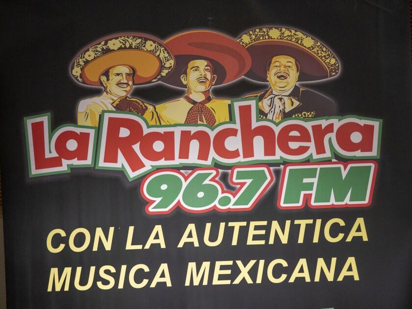 La Ranchera 96.7 FM logo