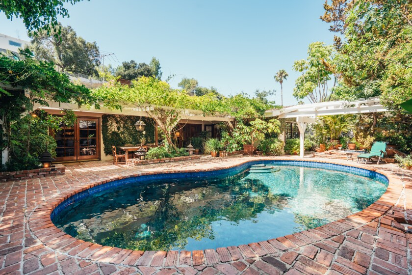 David Giler's home in the Hollywood Hills