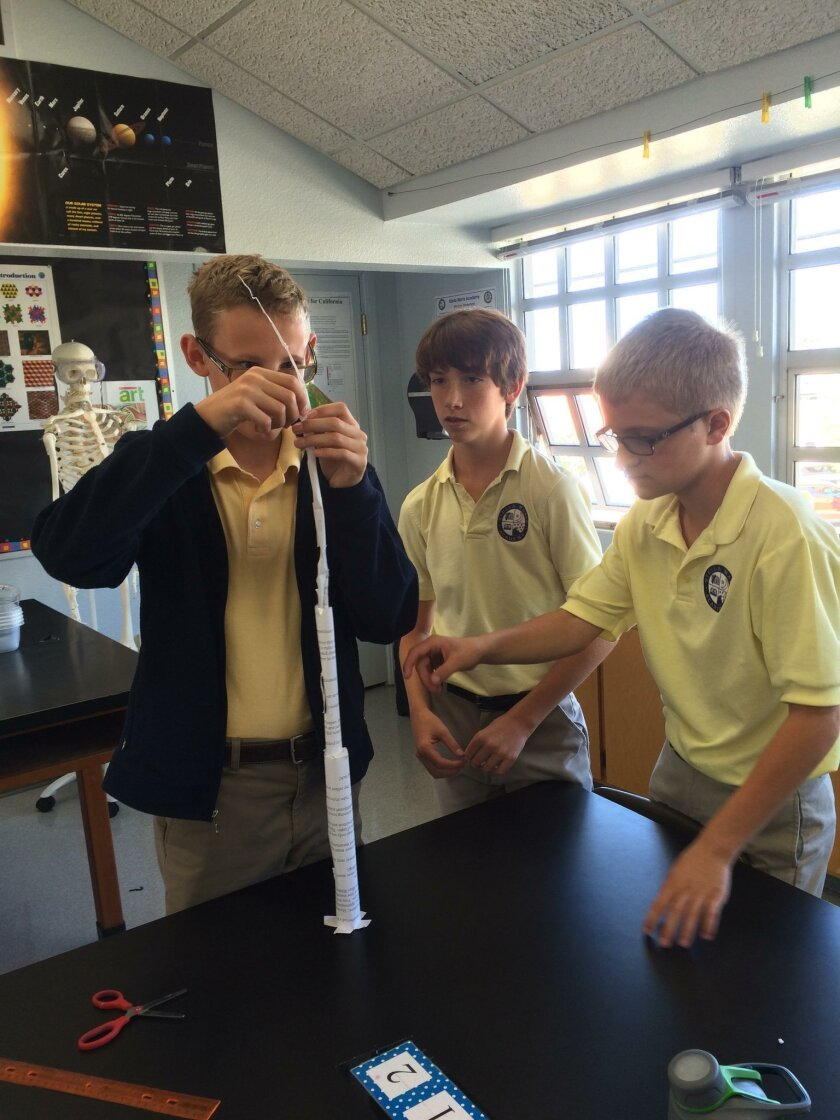 Stella Maris Academy emphasizes Science, Technology, Engineering, Art/Design and Math (STEAM) as part of its academic approach.