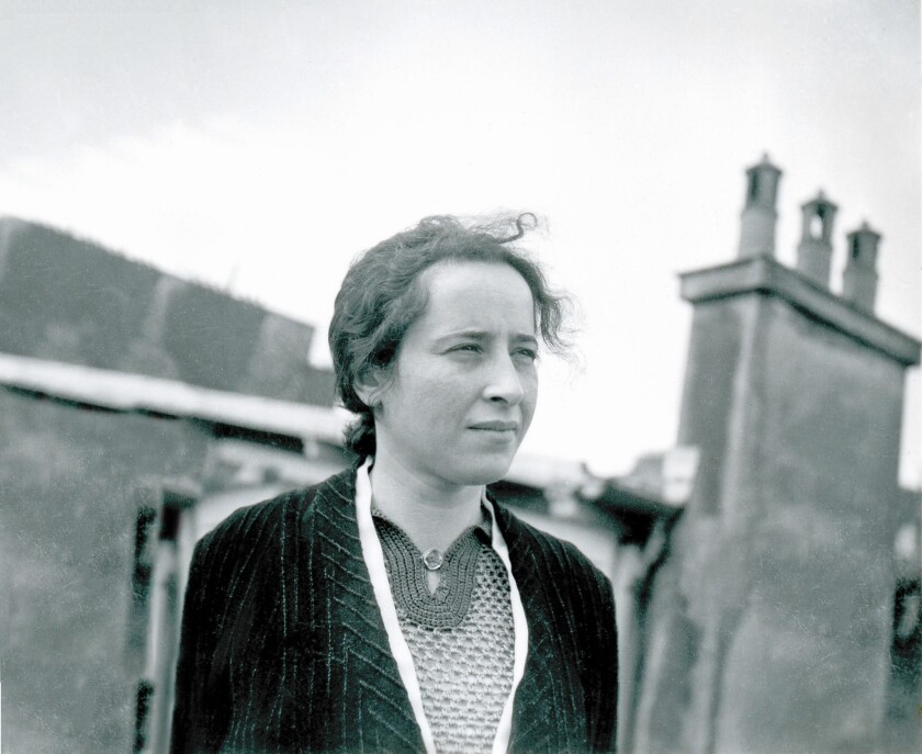 """Hannah Arendt from the documentary """"Vita Activa -- The Spirit of Hannah Arendt."""""""