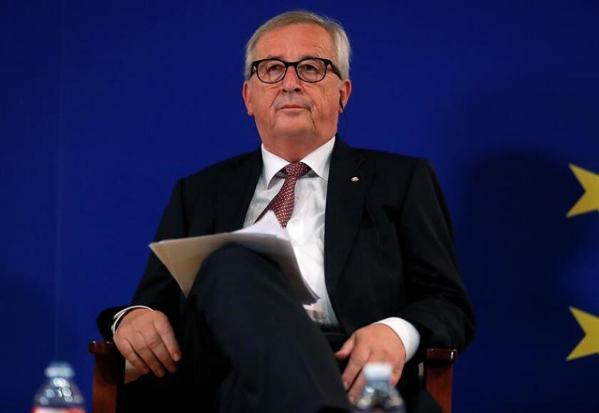 El presidente de la Comisión Europea, Jean-Claude Juncker. EFE/Archivo