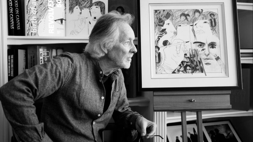 """In this image released on Monday, Sept. 10, 2018, """"It started in Hamburg"""": Klaus Voormann, legendary"""
