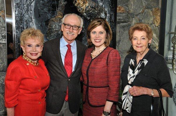 Lee Goldberg (host), Dr. David Ostrander (San Diego AHA board president), Nancy Brown (AHA National CEO), Hannah Step
