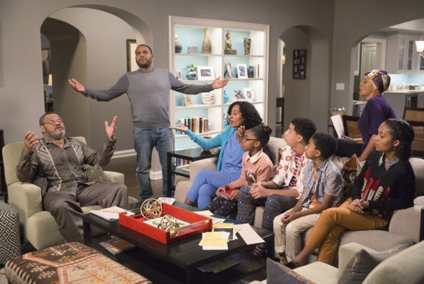 A scene from 'black-ish.'