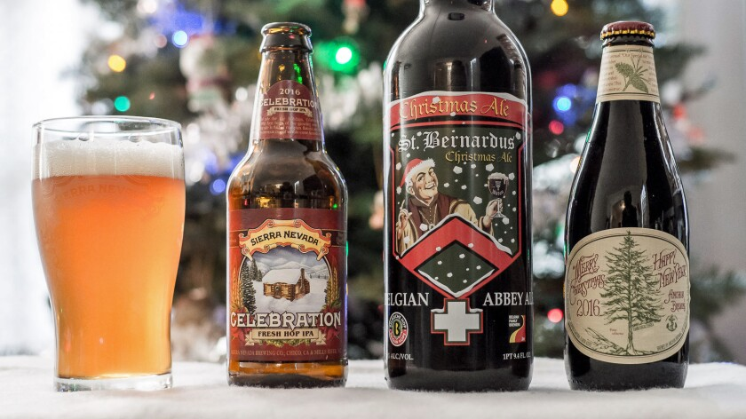 Christmas Beer.Three Christmas Beers To Drink For The Holidays Los