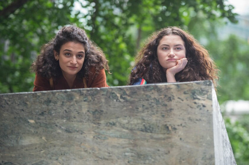 """Jenny Slate and Abby Quinn appear in """"Landline"""" by Gillian Robespierre, an official selection of the U.S. Dramatic Competition at the 2017 Sundance Film Festival."""
