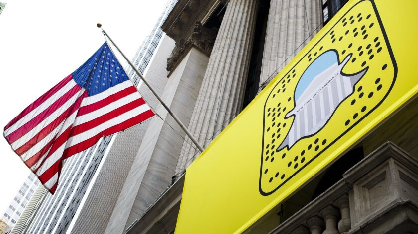 Snap said the Justice Department and the Securities and Exchange Commission are looking into allegations it misled investors ahead of its initial public offering last year.