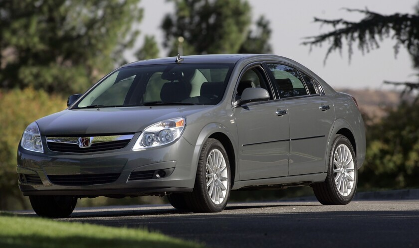 GM issues another big recall, will fix Saturn Aura shift defect