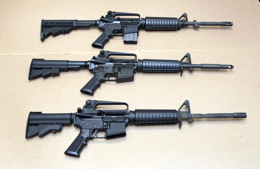 Colt suspends production of AR-15 and other rifles for the civilian market