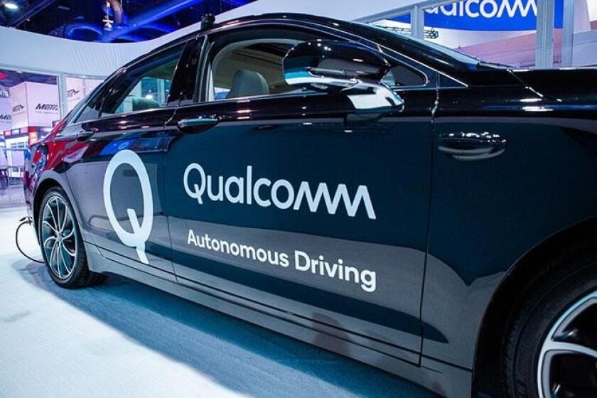 Qualcomm's self driving vehicle program