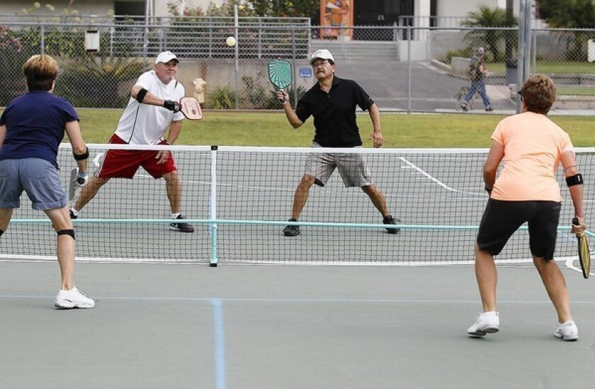 Pickleball proves to be a hit