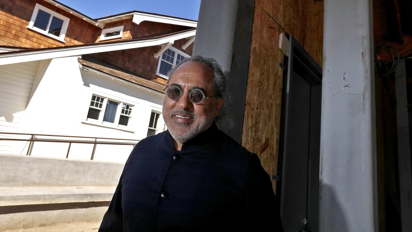 Real-estate developer Shaheen Sadeghi is renovating a warehouse and adjacent historic home on Anahei