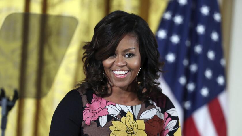 Foto de archivo. Michelle Obama, Primera Dama de Estados Unidos.
