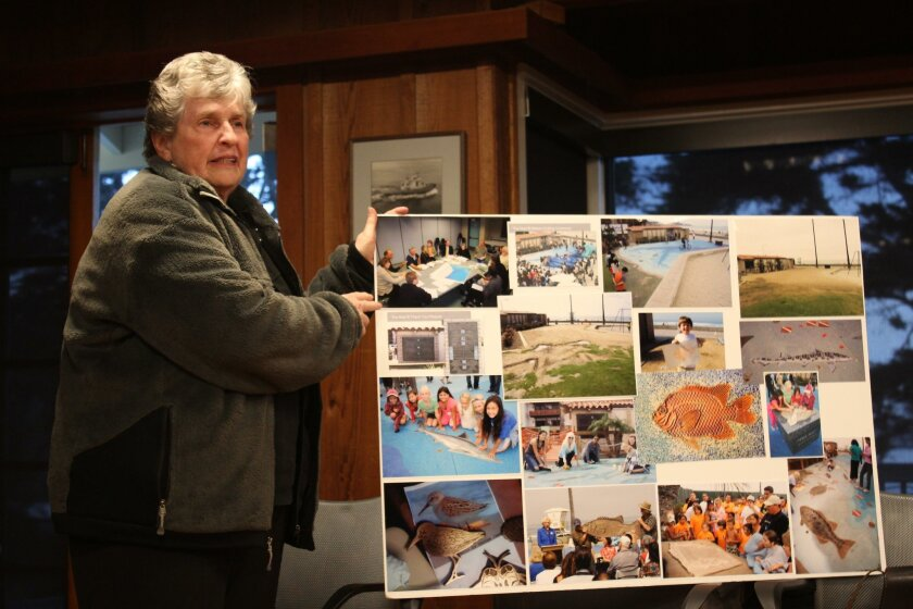 Mary Coackley Munk offers background on the history of the La Jolla Shores Map.