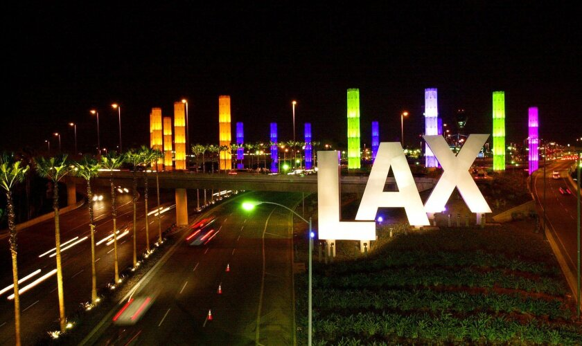 An allegedly unruly passenger was taken off a plane at Los Angeles International Airport and now faces a federal charge.