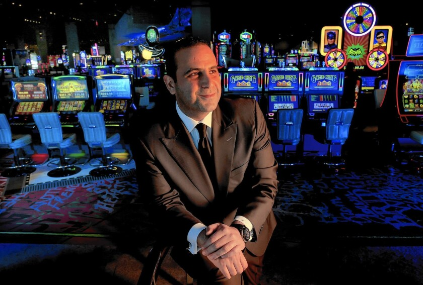 Nightclub owner Sam Nazarian has relinquished control of his 1,600-room SLS Las Vegas hotel and casino, which opened in August.