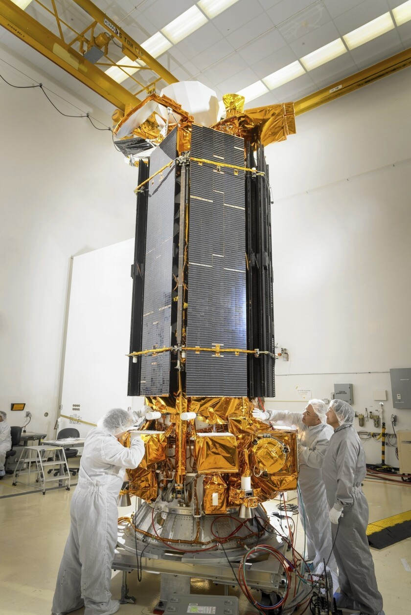 Military weather satellite set for launch from Vandenberg base