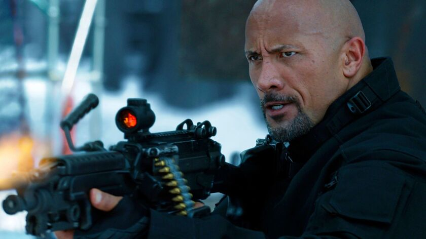"""Universal Pictures shows Dwayne Johnson in """"The Fate of the Furious."""""""