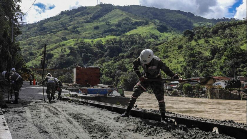 COLOMBIA-ENERGY-ENVIRONMENT-DAM-ITUANGO-ALERT