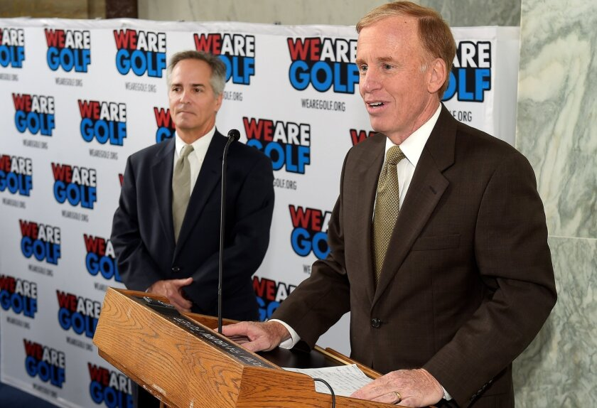 Steve Mona has been CEO of the World Golf Foundation since 2008.