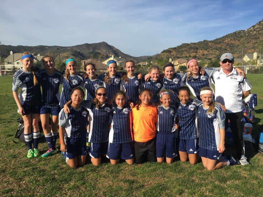 The Sharks GU13 (Smith) team scored 14 goals and let in only 2 to go undefeated at 6-0 and advance to the quarterfinals of the State Cup Governors Division.