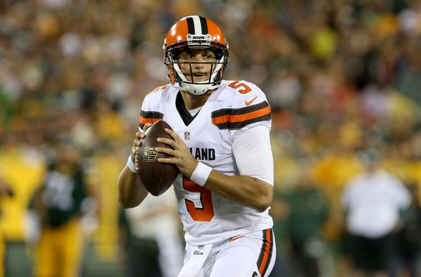 Browns, Patriots already at bottom of the quarterback barrel