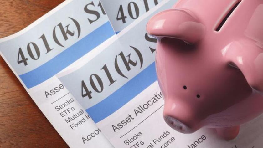 El 401(k): una alcancía no lo suficientemente grande (DNY59 / Getty Images / iStockphoto).
