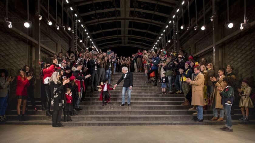 Ralph Lauren 50th anniversary runway finale
