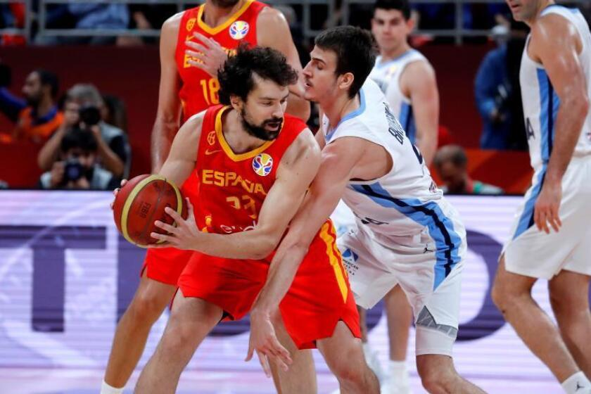 La selección española celebrará el título en Pekín y el lunes llega a Madrid