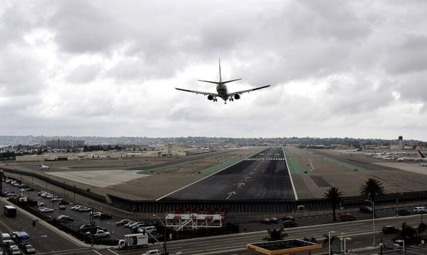 San Diego International Airport.