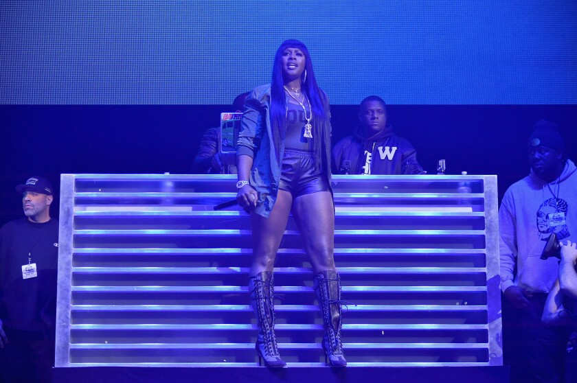Remy Ma performs at Powerhouse 2016 in October in New York City.