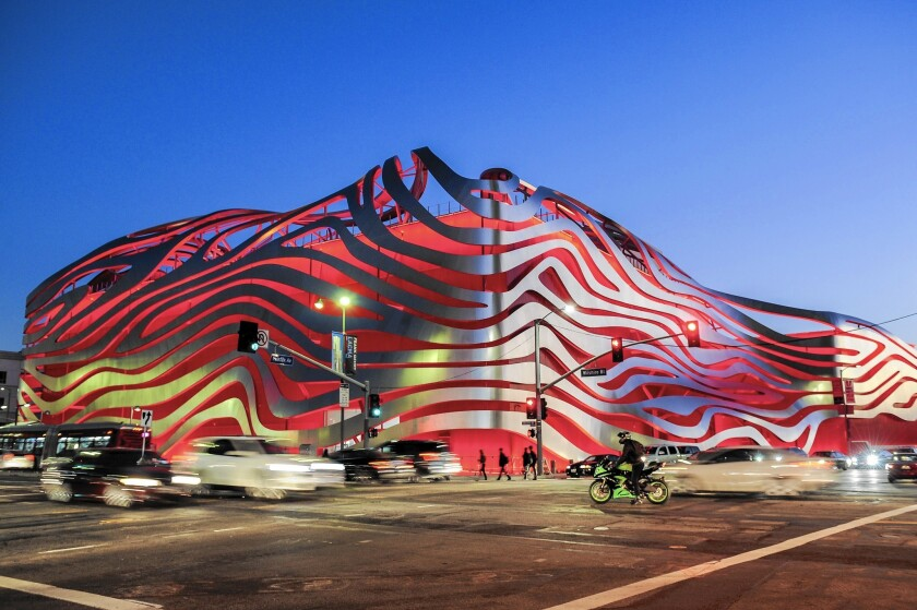 Currently closed due to the coronavirus outbreak, the Petersen Automotive Museum begins offering livestreamed tours of its collections on Wednesday.