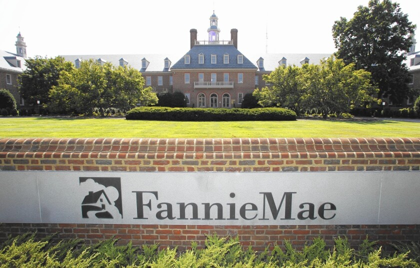 Fannie Mae and Freddie Mac are the biggest pillars of support for U.S. housing, guaranteeing 59% of all mortgages being written.