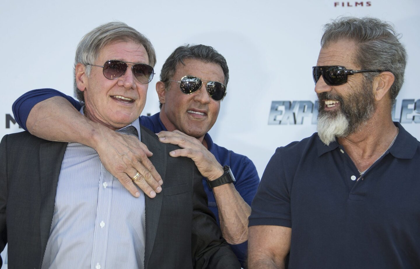 """Neither the chokehold by Sylvester Stallone nor the sight of Mel Gibson's beard could faze Harrison Ford, but while filming the latest """"Star Wars"""" installment, the 71-year-old actor broke his left leg -- putting his participation in the anticipated film on hold."""