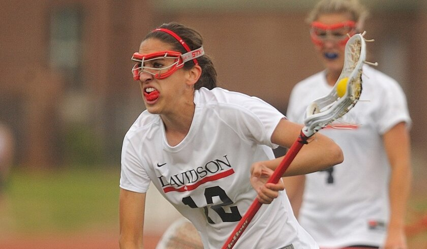 Monte Vista grad Alanna Parker earned a scholarship to play lacrosse at Davidson College.