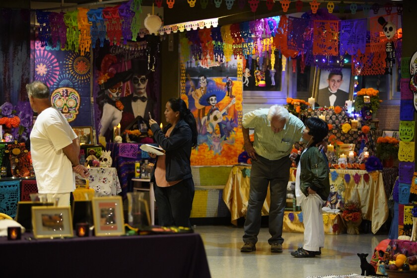 The Day of the Dead celebration put on by volunteers with the Sherman Heights Community Center is the oldest celebration of the Mexican holiday in San Diego. Volunteers spend months preparing for it and focus it being authentic and for the community.
