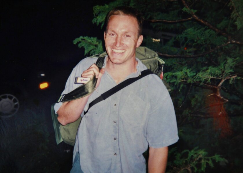 FILE - This undated file photo provided by Mark and Kate Quigley shows Glen Doherty, who died in an attack on the U.S. Consulate in Benghazi, Libya on Sept. 12, 2012. Doherty's heirs, led by his mother Barbara Doherty, filed a claim in September 2014 seeking damages from two government agencies, al
