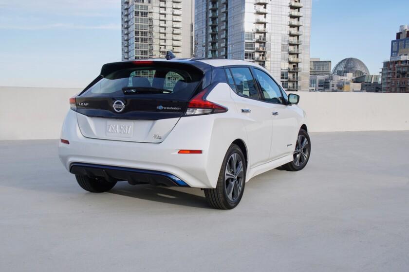Nissan Leaf EV del 2019
